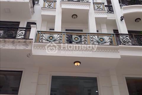 Nhà Phạm Văn Chiêu, phường 13, diện tích 56m2, nhà 1 trệt, 1 lửng, 3 lầu, có sân thượng