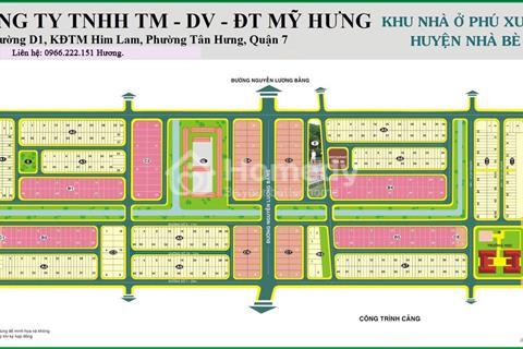 Bán đất nền khu dân cư Phú Xuân Vạn Phát Hưng, mặt tiền đường Nguyễn Lương Bằng