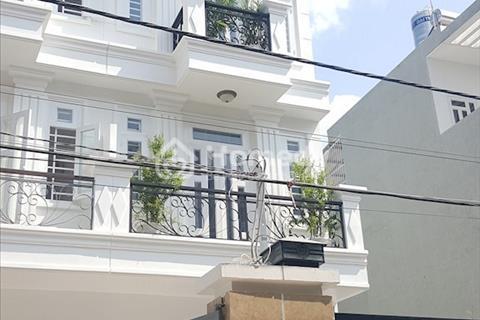 Bán nhà mặt tiền kinh doanh, 3 lầu, sổ hồng riêng gần ngã tư Ga, liền kề Gò Vấp