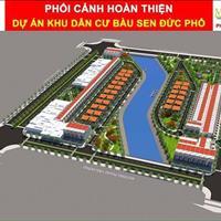Nhận đặt chỗ giai đoạn 2 khu dân cư Bàu Sen, xã Phổ Hòa, huyện Đức Phổ