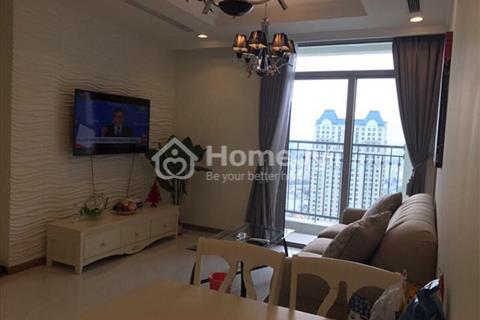 Cho thuê gấp căn hộ Vinhomes Central Park 2 phòng ngủ full nội thất view công viên ven sông