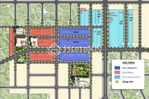 Khu đô thị Sakura tiềm năng với trục đường 34m - cách Cocobay 350m