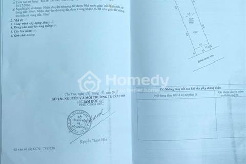 Bán nền thổ cư trục chính hẻm 146 Hoàng Quốc Việt giá 1,3 tỷ