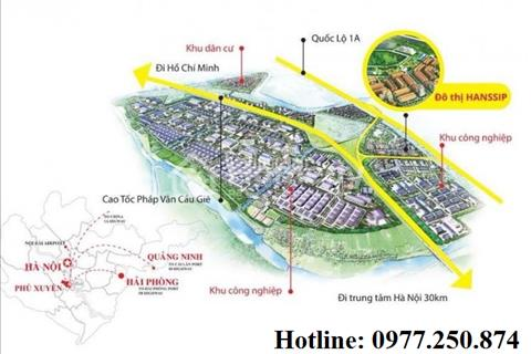 Hot, đừng bỏ qua khi bạn chưa đọc bài viết này, khu đô thị Hanssip Phú Xuyên