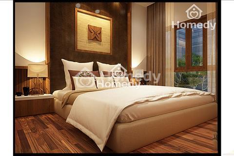 Cho thuê khách sạn 8 tầng mặt vườn hoa Dịch Vọng, giá 500 triệu/tháng