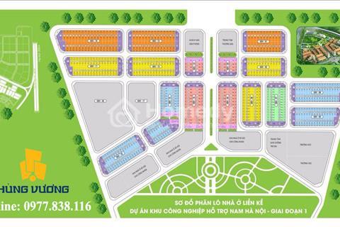 Sở hữu đất Hà Nội, chỉ từ 14 triệu/m2, đối diện khu công nghiệp Hanssip