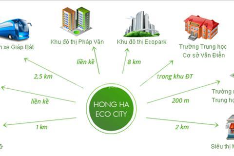 Hồng Hà Eco City tổ ấm hạnh phúc của người dân thủ đô
