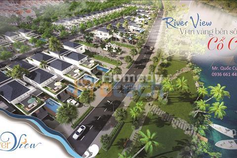 Khu đô thị River View mở bán đất nền biệt thự ven sông Cổ Cò - Giá đầu tư - Chiết khấu lên đến 8%