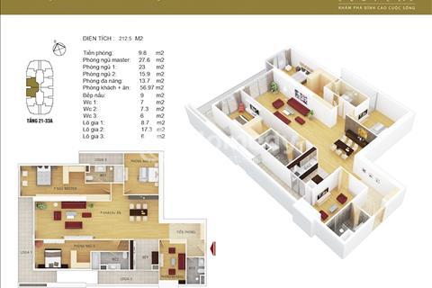 Bán căn hộ đẹp nhất 148m2 Discovery Complex 302 Cầu Giấy, giá chỉ từ 37 triệu/m2