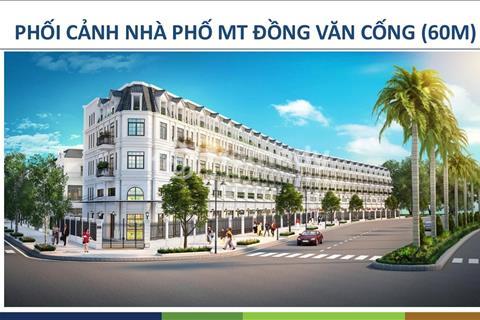 Bán Shophouse Đồng Văn Cống 5x22m  1 trệt 1 lửng 3 lầu, giá tốt