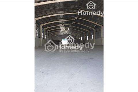 Cho thuê nhà xưởng 1000m2, phường Đông Hưng Thuận, quận 12