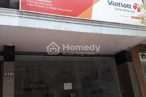 Cho thuê nhà mặt phố Trần Nhân Tông 30m2 x 1 tầng, mặt tiền 3m