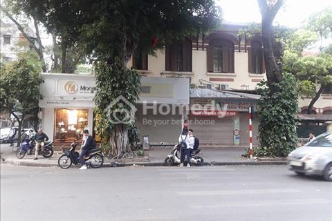 Cho thuê nhà mặt phố Trần Thái Tông 200m2, 8 tầng, mặt tiền 30m