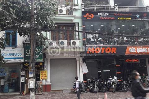 Cho thuê nhà mặt phố Linh Lang 100m2 x 5 tầng, mặt tiền 5m