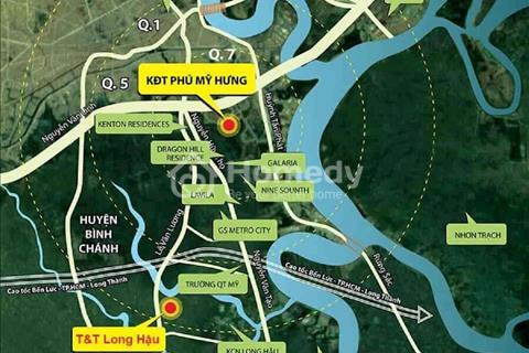 Đất nền T&T Long Hậu, Nhà Bè, giá chỉ từ 800 triệu/nền