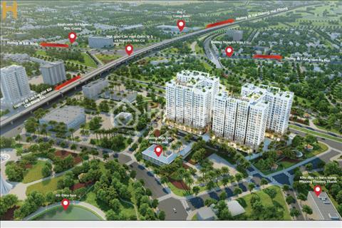 Bán căn hộ chung cư đường Nguyễn Văn Cừ view Big C Long Biên giá 19 triệu/m2, cam kết không chênh