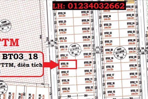 Cần bán lô biệt thự Thanh Hà, 200m2 đối diện trung tâm thương mại
