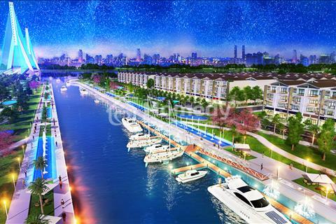 Khu đô thị cao cấp King Bay nằm ngay 3 mặt tiền sông, mặt tiền đường vành đai 3 ngay chân cầu