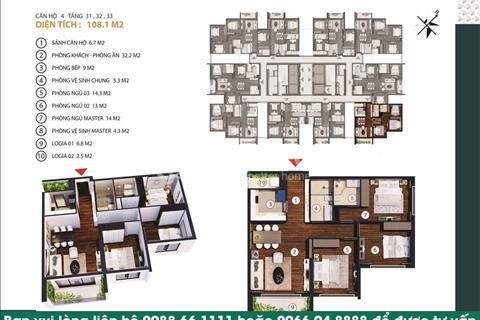 Căn hộ cao cấp Gold Tower 275 Nguyễn Trãi, chiết khấu 8%, giá 31 triệu/m2