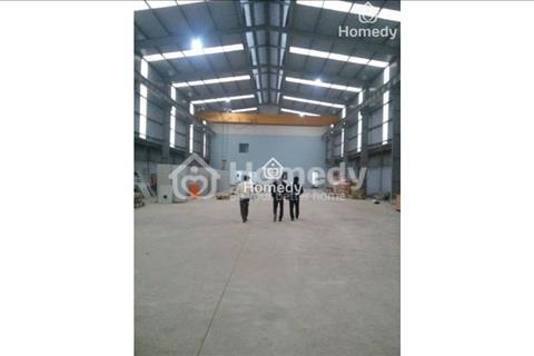 Cho thuê kho xưởng 800m2 tại ngã tư Trôi, Hoài Đức