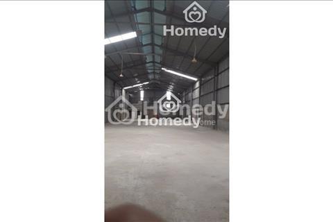 Cho thuê 800m2 kho xưởng giá 30 nghìn/m2/tháng tại An Thượng, Hoài Đức, Hà Nội