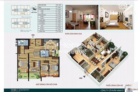 Chính chủ cần bán căn hộ tầng 25 chung cư CT4, giá 33 triệu/m2