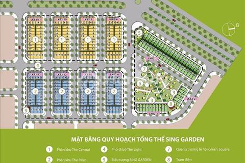 Bán liền kề biệt thự dự án Sing Garden Vsip Bắc Ninh