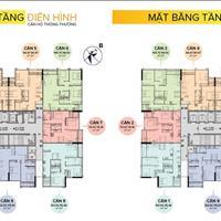 Chung cư The Sun - Mễ Trì, 2,7 tỷ - căn 2 phòng ngủ, diện tích 74,18m2