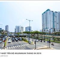 Bán căn hộ văn phòng Officetel Masteri Millennium mặt tiền Bến Vân Đồn, chỉ 2,2 tỷ/căn hoàn thiện