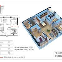 Chính chủ bán căn hộ 2 phòng ngủ, 67 m2 giá 1,7 tỷ chung cư Eco Green City Nguyễn Xiển