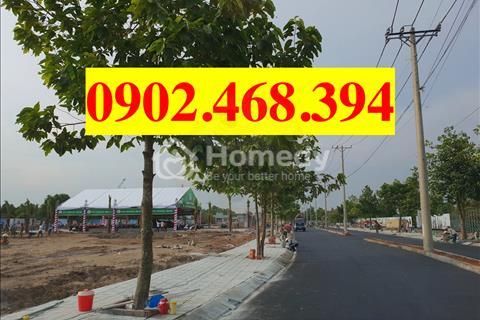 Kẹt tiền cần bán gấp nền đất mặt tiền đường lớn 21m, Bình Chánh, giá 579 triệu, SHR, xây dựng tự do