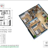 Bán gấp căn hộ Eco Green City căn 67 m2 và 74 m2 giá 1,7 tỷ chính chủ
