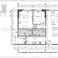 Chính chủ nhượng lại gấp 78m2 căn hộ viện 103 Văn Quán, giá 1,55 tỷ nhận nhà ở ngay