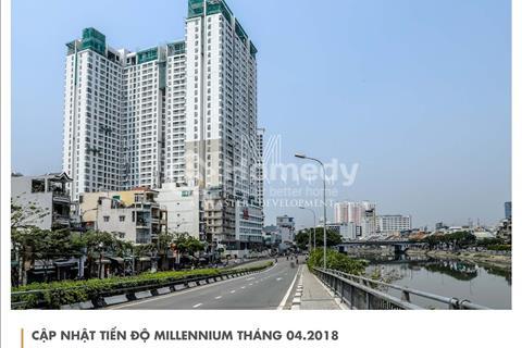 CH Văn phòng hạng sang Millennium bến Vân Đồn Q4, view trực diện Q1, giá từ 2 tỷ, CK từ 2-5%