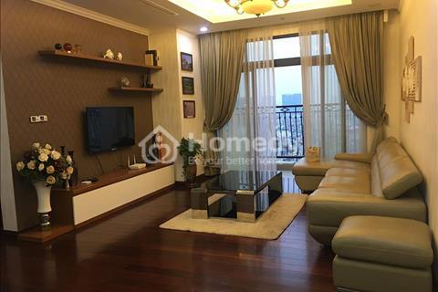Cho thuê chung cư Royal City, R3-1516, 132 m2, 3 ngủ sáng tự nhiên (view sân Quảng trường Royal)