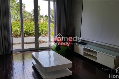 Cho thuê biệt thự Mỹ Phú, nhà tuyệt đẹp, 4 phòng ngủ, nội thất cao cấp, giá 40 triệu/tháng