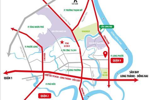 Đất nền Long Phước Quận 9, gần cầu Long Đại, cách khu siêu đô thị Vincity 1.3km
