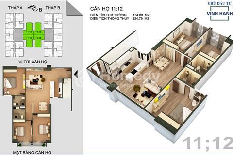 Sở hữu ngay căn hộ 124m2 Tứ Hiệp Plaza nhận chiết khấu 115 triệu và miễn phí 5 năm phí dịch vụ