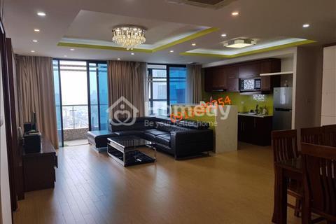Cho thuê chung cư Golden Land, 275 Nguyễn Trãi, 133m2, full đồ mới 100%, ban công đông nam