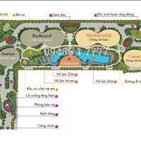Bán căn hộ City Garden, giai đoạn 2, 108m2, 2 phòng ngủ, view hồ Văn Thánh, giá tốt 5,5 tỷ
