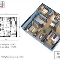 Cần bán căn hộ tại toà CT4 Eco Green, tầng trung, mã căn 07