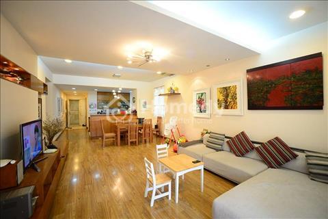 Cho thuê chung cư M5 Nguyễn Chí Thanh căn góc 150 m2 đủ đồ 16 triệu/tháng