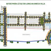 Duy nhất 3 nền mặt tiền còn lại dự án Areca Villa Đức Hoà, Long An, giá gốc của chủ đầu tư
