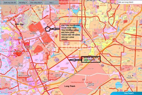Đất mặt tiền Bắc Sơn Long Thành, gần sân bay Long Thành