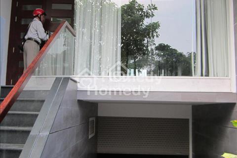 Cho thuê nhà nguyên căn mặt tiền đường số khu dân cư Him Lam, 5x20m, hầm, trệt, 3 lầu, giá 35 triệu