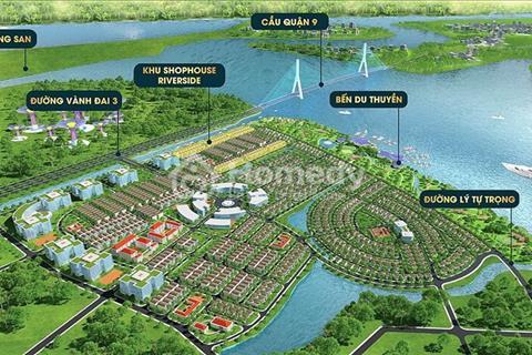 Đô thị 3 mặt tiền sông, mặt tiền vành đai 3, ngay chân cầu quận 9, giá chỉ từ 15 triệu/m2