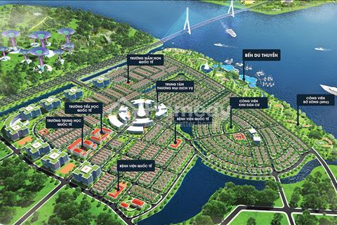 Ba mặt tiền sông, mặt tiền vành đai 3 - King Bay Nhơn Trạch, giá 14 - 16 triệu/m2