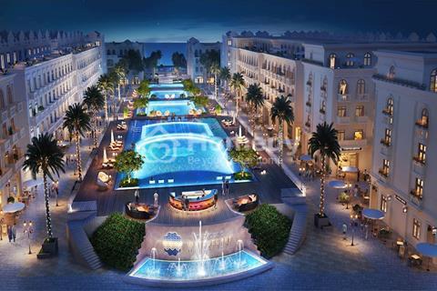 Nhượng lại đôi Shophouse trục đường lớn dự án WaterFront Luxury Phú Quốc