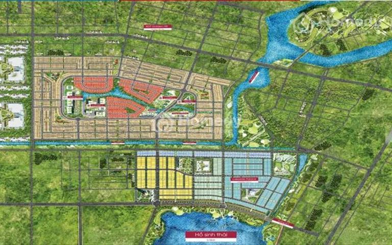 Biệt thự giáp 3 mặt sông độc đáo đầu tiên tại khu đô thị Dragon Smart City - Đà Nẵng