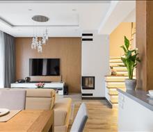 Căn hộ chung cư 90m2 phong cách hiện đại ở quận 2